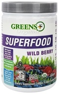 Greens Plus - Organic Wild Berry Powder - 8.46 oz. DAILY DEAL