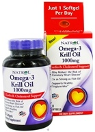 Image of Natrol - Omega-3 Neptune Krill Oil 1000 mg. - 30 Softgels