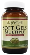 LifeTime Vitamins - Multi-Vitamin & Mineral with FloraGLO Lutein - 120 Softgels (053232800313)
