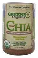 Greens Plus - Organic Omega-3 Chia Seed Superfood - 1 lb.