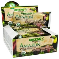 Image of Greens Plus - Organic Amazon Chocolate Energy Bar - 1.6 oz. DAILY DEAL