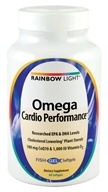 Rainbow Light - Omega Cardio Performance - 60 Softgels - $19.79