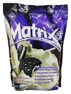 Syntrax - Matrix 5.0 Sustained-Release Protein Blend Cookies & Cream - 5.4 lbs. by Syntrax