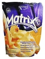 Syntrax - Matrix 5.0 Sustained-Release Protein Blend Orange Cream - 5.07 lbs.