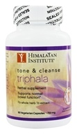 Himalayan Institute - Total Detox Organic Triphala 750 mg. - 60 Vegetarian Capsules, from category: Detoxification & Cleansing