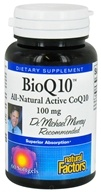 Natural Factors - BioQ10 All-Natural Active CoQ10 100 mg. - 60 Softgels - $24.47