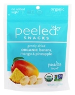 Peeled Snacks - Organic Fruit Picks Paradise Found Banana, Mango & Pineapple - 3.5 oz.