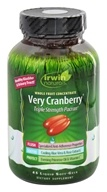 Irwin Naturals - Very Cranberry Triple Strength PACran Whole Fruit Concentrate - 45 Softgels