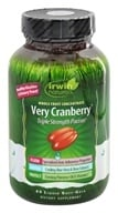 Irwin Naturals - Very Cranberry Triple Strength PACran Whole Fruit Concentrate - 45 Softgels, from category: Nutritional Supplements