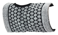 "The Healing Tree - Bamboo Charcoal Carpal Support Medium Size 4 1/4"" x 9 1/8"" x 3 1/4"""