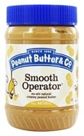 Peanut Butter & Co. - Smooth Operator Natural Peanut Butter - 16 oz. by Peanut Butter & Co.