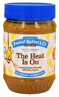 Peanut Butter & Co. - The Heat Is On Peanut Butter Blended with Fiery Spices - 16 oz., from category: Health Foods