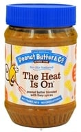 Peanut Butter & Co. - The Heat Is On Peanut Butter Blended with Fiery Spices - 16 oz. by Peanut Butter & Co.