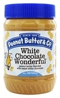 Peanut Butter & Co. - White Chocolate Wonderful Peanut Butter Blended with Sweet White Chocolate - 16 oz. (851087000052)