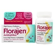 Florajen - Florajen Acidophilus - 60 Capsules, from category: Nutritional Supplements