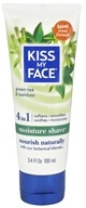 Kiss My Face - Moisture Shave Green Tea & Bamboo - 3.4 oz.