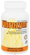 Naturally Vitamins - Fibrozym - 200 Tablets - $36.22