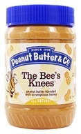 Peanut Butter & Co. - The Bees's Knees Peanut Butter Blended with Scrumptious Honey - 16 oz. by Peanut Butter & Co.