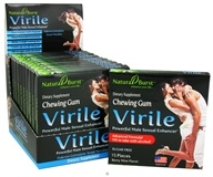 Image of Neutralean - Virile Chewing Gum Powerful Male Sexual Enhancer Berry Mint Flavor - 15 Piece(s) (Formerly Natural Burst)
