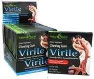 Neutralean - Virile Chewing Gum Powerful Male Sexual Enhancer Berry Mint Flavor - 15 Piece(s) (Formerly Natural Burst)