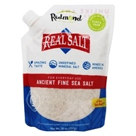 Real Salt - Nature's First Sea Salt Fine Salt - 26 oz. (018788102502)