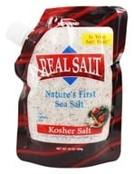 Real Salt - Nature's First Sea Salt Kosher Salt - 16 oz. (018788801603)