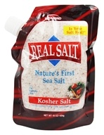 Real Salt - Nature's First Sea Salt Kosher Salt - 16 oz. by Real Salt