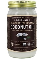 Dr. Bronners - Magic Fresh-Pressed Virgin Coconut Oil Whole Kernel Unrefined - 14 oz. (018787505014)
