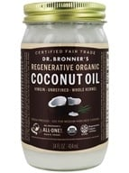 Image of Dr. Bronners - Magic Fresh-Pressed Virgin Coconut Oil Whole Kernel Unrefined - 14 oz.