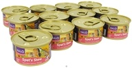 Halo Purely for Pets - Spot's Stew For Cats 3 oz. Succulent Salmon Recipe - 12 Can(s)