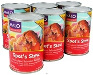 Halo Purely for Pets - Spot's Stew For Dogs 22 oz. Succulent Salmon Recipe - 6 Can(s)
