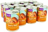 Image of Halo Purely for Pets - Spot's Stew For Dogs 13.2 oz. Wholesome Chicken Recipe - 12 Can(s)