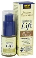 Avalon Organics - Essential Lift Lifting Serum - 0.5 oz.