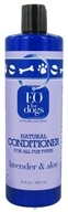 Image of EO Products - Natural Dog Conditioner Lavender & Aloe - 16 oz.