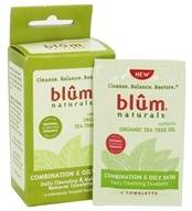 Blum Naturals - Daily Cleansing & Makeup Remover Towelettes Combination & Oily Skin - 10 Towelette(s) (895045000487)