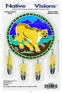 Native Visions - Window Transparencies Cougar - CLEARANCE PRICED by Native Visions