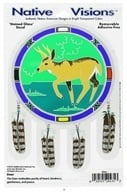 Image of Native Visions - Window Transparencies Deer - CLEARANCE PRICED