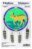 Native Visions - Window Transparencies Deer - CLEARANCE PRICED - $4.07