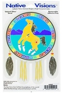 Native Visions - Window Transparencies Horse - CLEARANCE PRICED - $4.07
