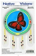 Image of Native Visions - Window Transparencies Monarch Butterfly - CLEARANCE PRICED