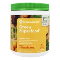 Image of Amazing Grass - Green SuperFood Orange Dreamsicle Drink Powder - 8.5 oz.