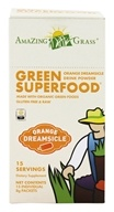 Image of Amazing Grass - Green SuperFood Drink Powder Orange Dreamsicle - 15 Packet(s)