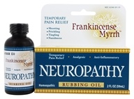 Frankincense & Myrrh - All Natural Neuropathy Rubbing Oil - 2 oz. (815439030012)