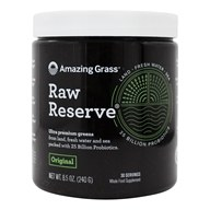 Image of Amazing Grass - Green SuperFood Raw Reserve 30 Servings - 8.5 oz.