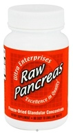 Ultra Enterprises - Raw Pancreas 200 mg. - 60 Tablets (043292559252)