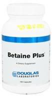 Douglas Laboratories - Betaine Plus - 100 Capsules, from category: Professional Supplements