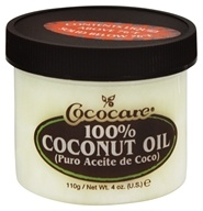 Image of Cococare - 100% Coconut Oil - 4 oz.