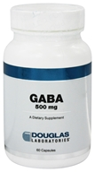 Douglas Laboratories - Gaba 500 mg. - 60 Capsules, from category: Professional Supplements