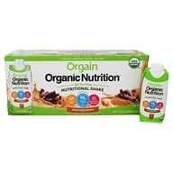 Orgain - Organic Ready To Drink Meal Replacement Iced Cafe Mocha - 12 Pack (formerly Mocha Cappuccino