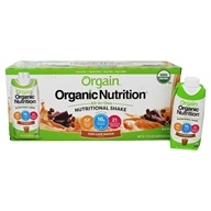 Orgain - Organic Ready To Drink Meal Replacement Iced Cafe Mocha - 12 Pack (formerly Mocha Cappuccino) - $29.99